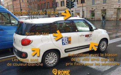 Taxi et Uber à Rome – Informations et numéros
