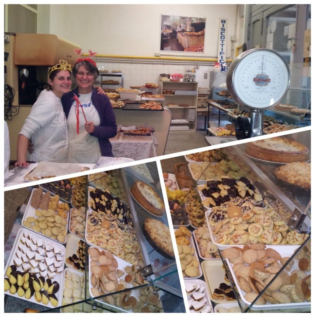 Stefania propose de délicieux biscuit au cœur de Trastevere !