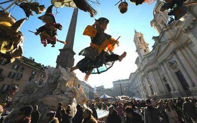 L'épiphanie, jour férié à Rome