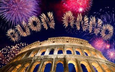 Réveillon du nouvel an à Rome