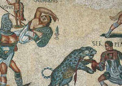 Gladiateurs et auriges