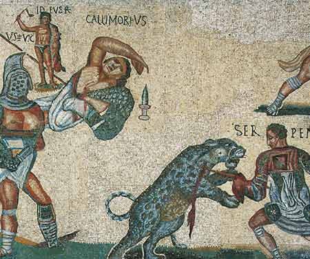 Gladiateurs et auriges