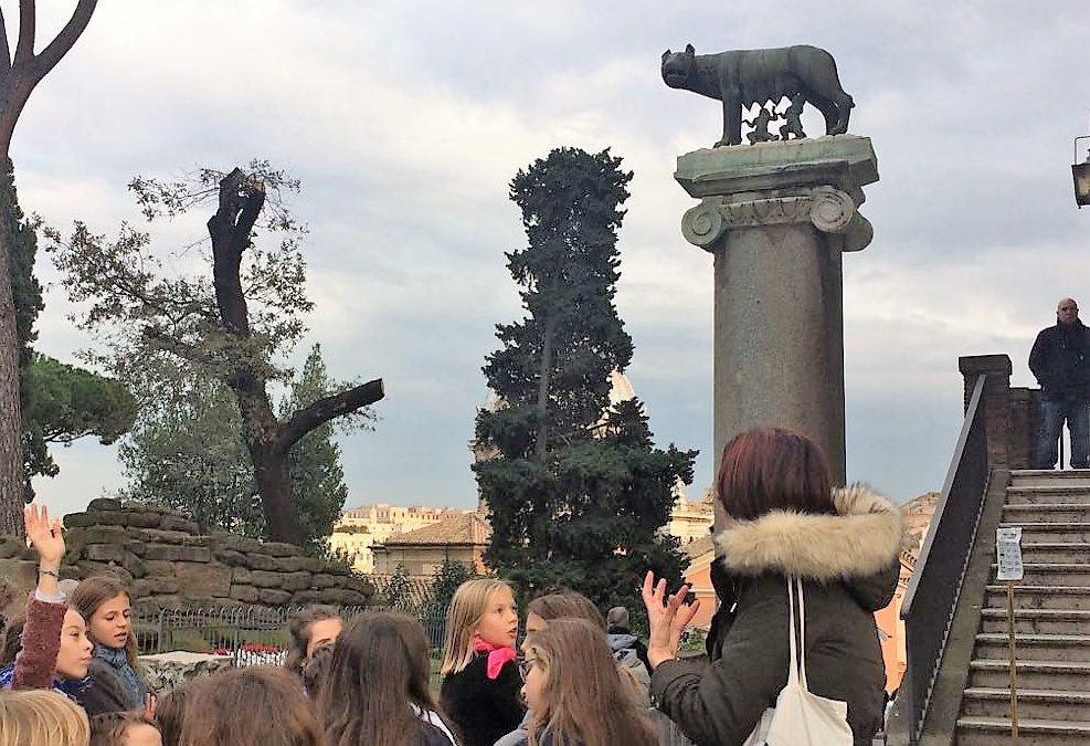 Les légendes de Rome pour les enfants