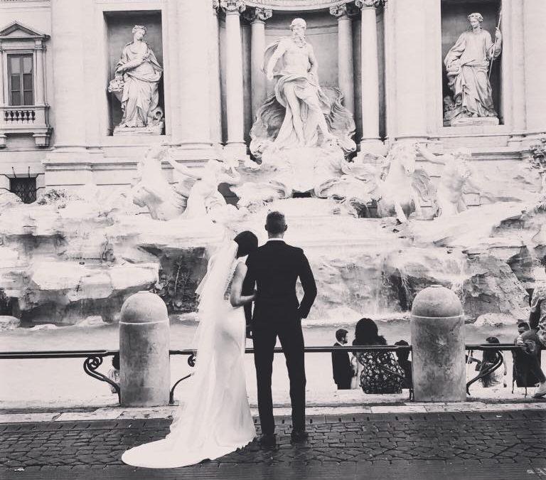 Menu de la Saint Valentin à Rome