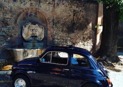 Explorez Rome en Fiat 500